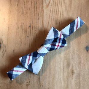 👔Tommy Hilfiger 100% cot. adj. plaid bow tie